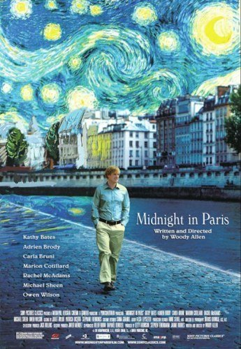 'Midnight in Paris', cartel de la nueva película de Woody Allen