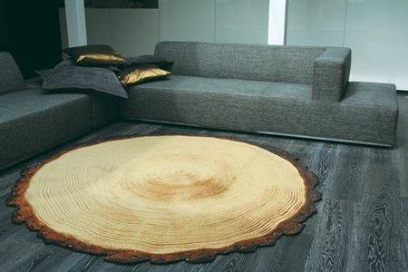 La Woody wood, una alfombra (que parece) de madera