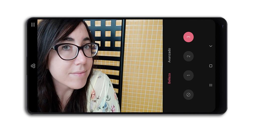 Xiaomi Mi Mix 2 Camara Interfaz Frontal