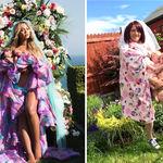 Una madre recrea la imagen con que Beyoncé presentó a sus gemelos
