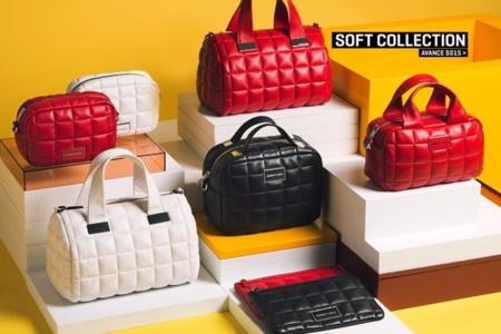 La colección Bimba y Lola primavera 2015 hace muy apetecibles los bolsos acolchados