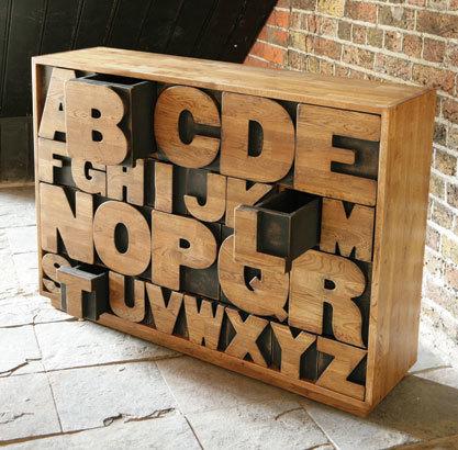 Mueble Alphabet