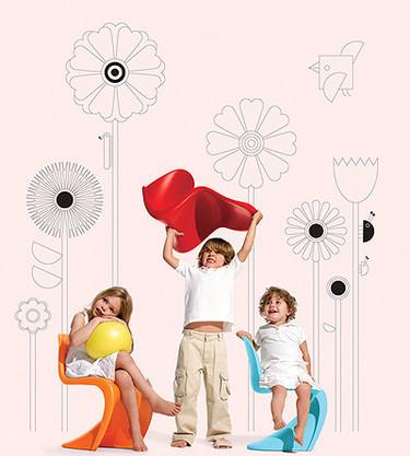 Silla Panton para niños
