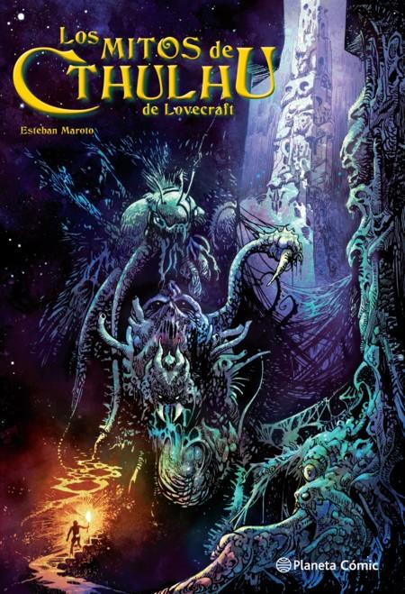 Los Mitos De Cthulhu De Lovecraft Portada