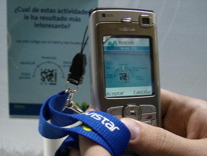 Móvil Forum 2006: movicode de Movistar