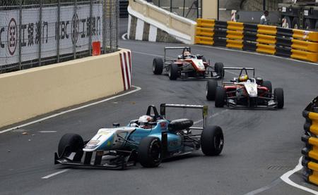 Mala suerte para los españoles en el Gran Premio de Macao de Fórmula 3