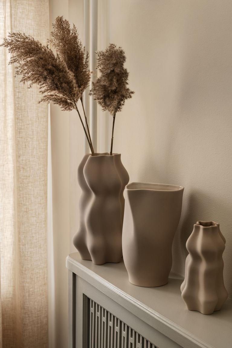 Jarrón pequeño de cerámica