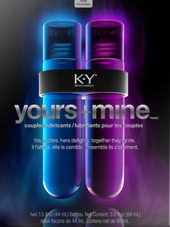 KY Yours + Mine, lubricados los dos