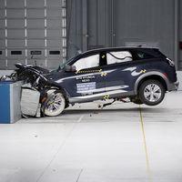 Hyundai NEXO se lleva la máxima calificación en las pruebas de choque del IIHS