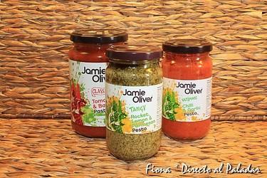 Salsas de Jamie Oliver. Degustación