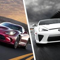 El ocaso de los deportivos de leyenda: se han vendido cinco Dodge Viper y tres Lexus LFA en 2019