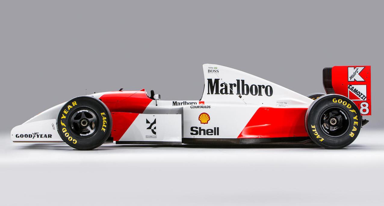 Foto de Mclaren MP4/8A de Ayrton Senna (1/16)