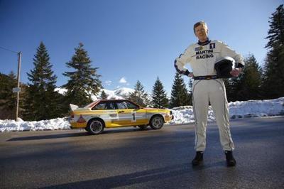 30º aniversario de Audi Quattro con Walter Röhrl