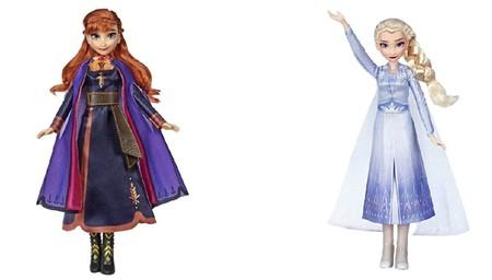 muñecas cantarinas Frozen