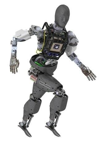 Robot humano para concurso de DARPA