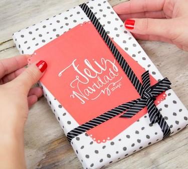 La semana decorativa: Envuelve los regalos de Navidad tú mismo