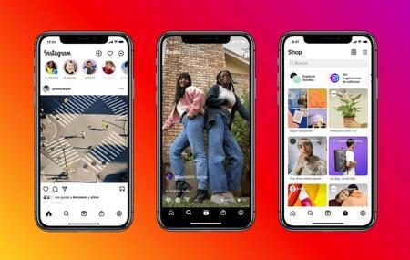 Instagram le quiere plantar cara a TikTok: se rediseña y resalta las funciones de Reels y la tienda dentro de la app