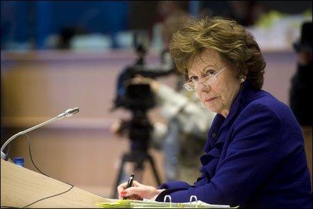 La Agenda Digital que impulsa la comisaria Neelie Kroes recibe el apoyo de los ministros europeos