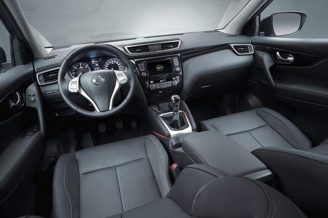 Nissan Qashqai 2014 interior