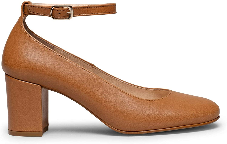 Zapatos miMaO. Zapatos de Mujer Hechos en España. Zapatos de Tacón con Hebilla al Tobillo. Elegancia y Confort