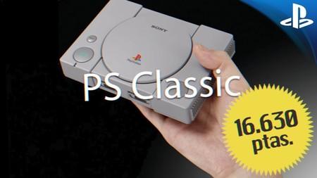 PlayStation Classic se podrá pagar en pesetas: valdrá lo mismo, pero incluye un lote de regalos