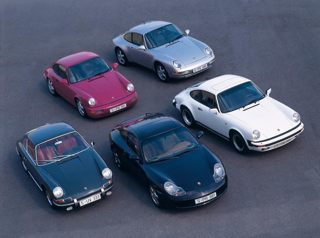Foto de Evolución del Porsche 911 (1/30)