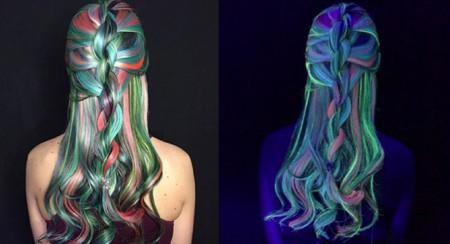 El cabello flúor, la nueva tendencia capilar del 2016