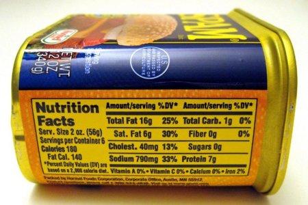 Cuidado con los productos reducidos en sodio