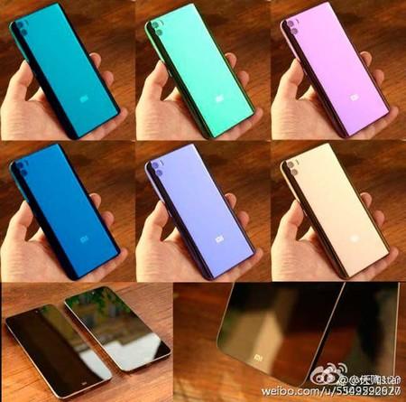 Xiaomi Mi Note 2 estaría disponible en una muy amplia gama de colores