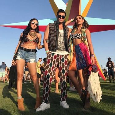 El mejor street style de la semana: así conquistaron Coachella los prints de temporada