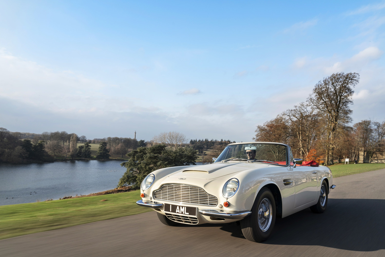 Foto de Aston Martin Heritage EV Concept (1/16)