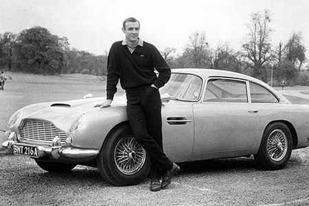DB5 James Bond Sean Connery