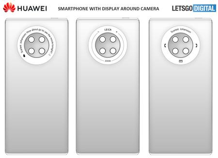 Huawei Patente Pantalla Tactil Aro Camara
