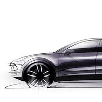 El nuevo Porsche Cayenne ya muestra su silueta. Se presentará este martes