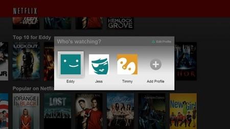 Netflix posibilita la creación de perfiles para cada miembro de la familia