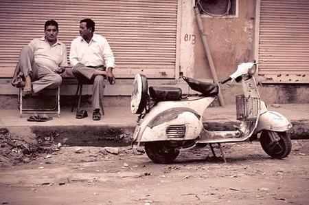 The wobbly wheels rally, viaja por India con un Scooter
