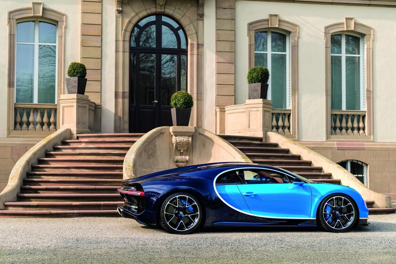 Foto de Bugatti Chiron (31/77)