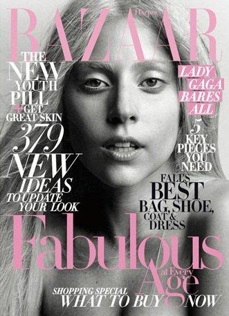 ¿Lady Gaga al natural en Harper's Bazaar o es una muñeca de cera?