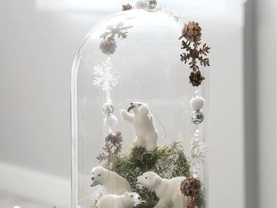 El arte de copiar a la naturaleza y crear la decoración navideña más especial