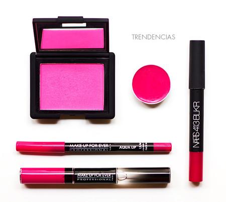 ¡Pink Up Your Life! Te proponemos un look con Nars, MUFE y Kryolan