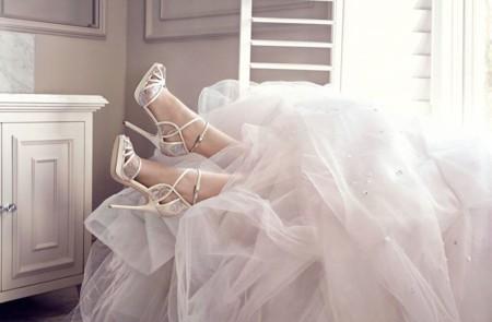 ¡Ver la colección de zapatos de novia de Jimmy Choo y querer casarme mañana!