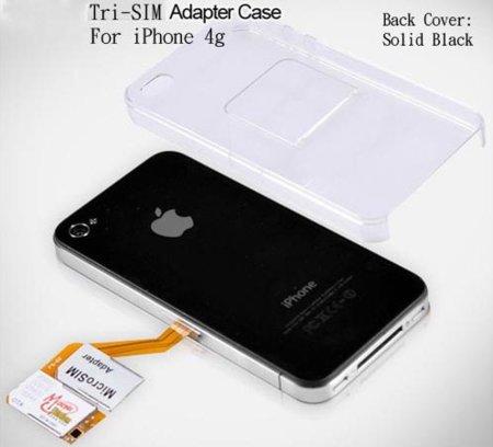 TriSIM Card para iPhone 4, tres mejor que dos