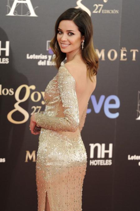 La tendencia de la fiesta primaveral llegó a los Goya 2013: las actrices españolas lucieron sus espaldas