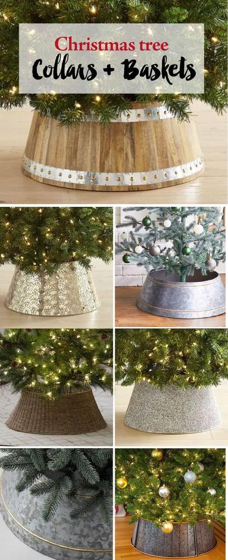 Base para el árbol de Navidad
