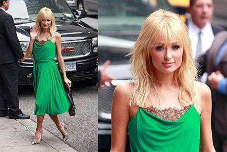 Paris Hilton en el Show de David Letterman
