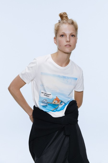 Camiseta Disney Zara 16