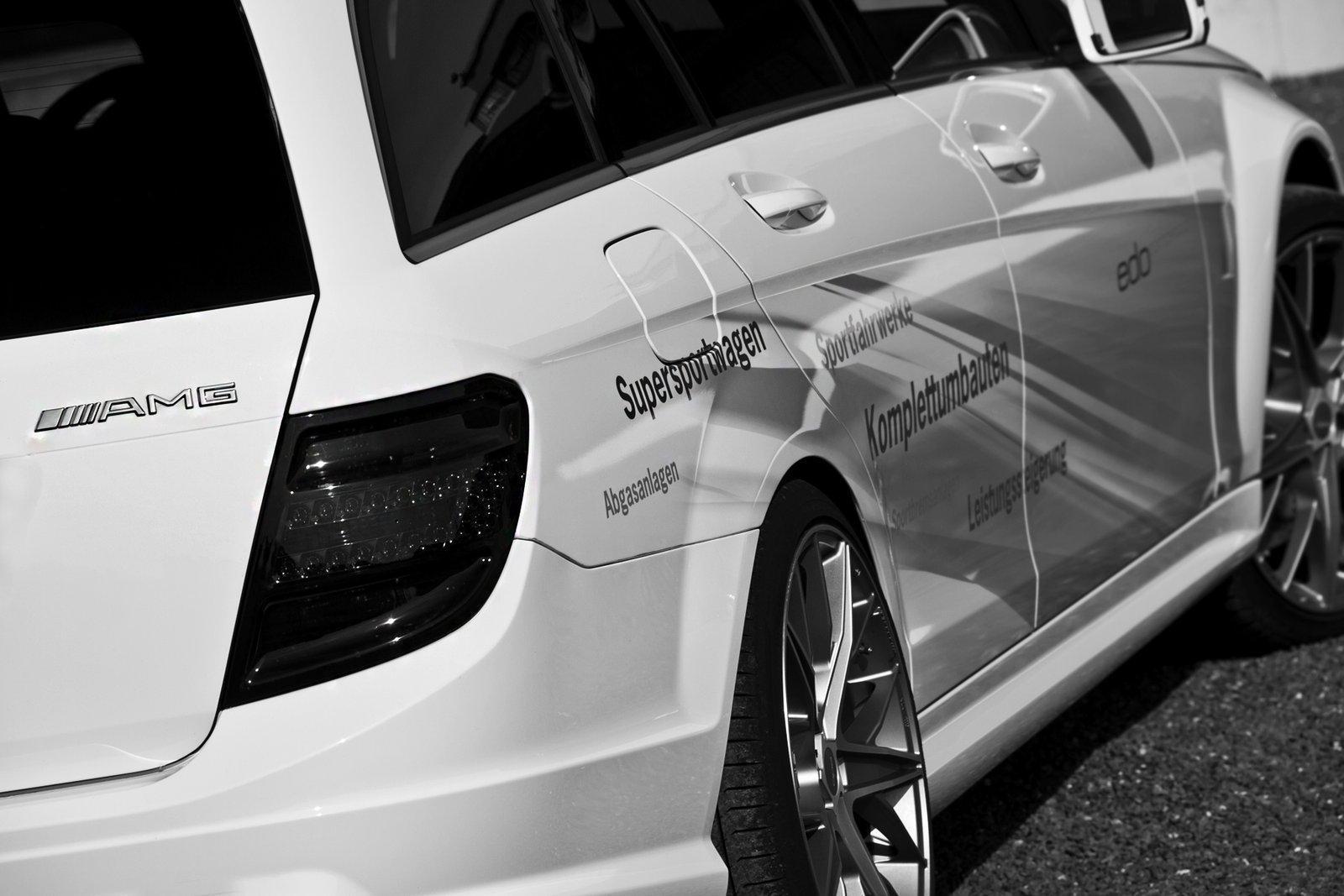 Foto de Mercedes C63 AMG Wagon por Edo Competition (15/16)