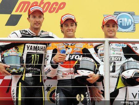 MotoGP'09: Lo mejor y lo peor de la carrera de Donington