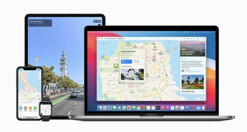 Apple Maps en iOS 14.5 mostraría datos de ocupación de puntos de interés en tiempo real, según su política de privacidad