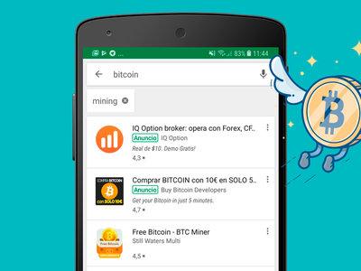 Minar Bitcoins en Android es un timo pero hay apps que te pueden ser útiles